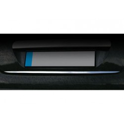 Rear bumper sill cover for Peugeot 207 2006-2012