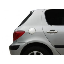 Covers chrome cache tank of gasoline for Peugeot 307 2001-2008