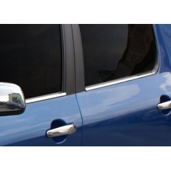 Window trim cover chrom alu for Peugeot 307 2001-2008