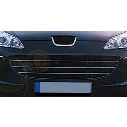 Rod's grille chrome for Peugeot 407 2004-2010