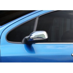 Chrom mirror cover for Peugeot 407 2004-2010