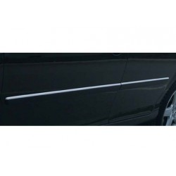 Covers rods doors chrome for Peugeot 407 2004-2010