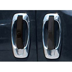 Chrome frame for Peugeot BIPPER 5 doors door handle covers