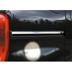 Moulding chrome sliding door notch Peugeot BIPPER 2008-[...]