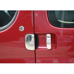 Peugeot PARTNER I Facelift 5 door chrome door handle covers
