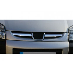 Rod's grille chrome for Peugeot PARTNER I Facelift 2004-2008