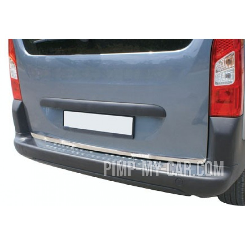 Rear bumper sill cover for Peugeot PARTNER (II) TEPEE 2008-[...]