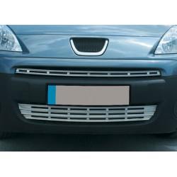 Rod's grille chrome for Peugeot PARTNER (II) TEPEE 2008-[...]