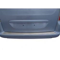 Rear bumper sill cover alu for Peugeot PARTNER (II) TEPEE 2008-[...]