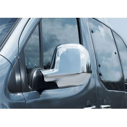 Chrom mirror cover for Peugeot PARTNER (II) TEPEE 2008-[...]