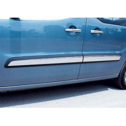 Covers rods doors chrome for Peugeot PARTNER (II) TEPEE 2008-[...]