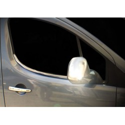 Window trim cover chrom alu for Peugeot PARTNER (II) TEPEE 2008-[...]