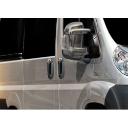 Peugeot BOXER III chrome door handle covers