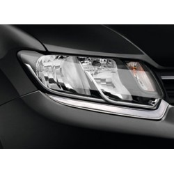 Contour chrome front headlights Renault SYMBOL III 2013-[...]