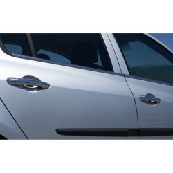 Renault CLIO III 5-door chrome door handle covers