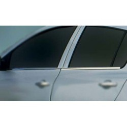 Window trim cover chrom alu for Renault CLIO III 2006-2012