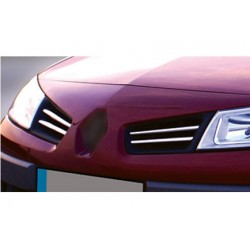 Rod's grille chrome for Renault MÉGANE II Facelift 2006-2010