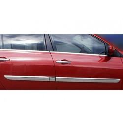 Covers wands doors chrome for Renault MÉGANE II Facelift 2006 - 2010