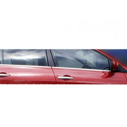 Window trim cover chrom alu for Renault MEGANE II 2004-2010