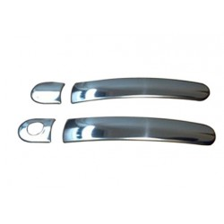 Deco for Seat ALTEA 2 door chrome door handle covers