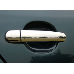 Chrome for Skoda OCTAVIA II (A5) door handle covers
