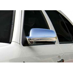 Covers mirrors stainless chrome for Skoda FABIA I 2000-2007