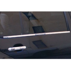 Window trim cover chrom alu for Skoda FABIA I 2000-2007