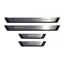 Skoda SUPERB II sports door sills