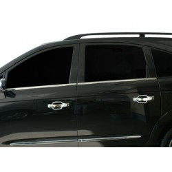 Window trim cover chrom alu for Ssangyong RODIUS 2007-[...]