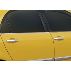 Toyota YARIS II chrome door handle covers