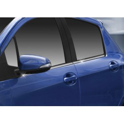 Window trim cover chrom alu for 2012 Toyota YARIS III-[...]