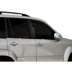 Window trim cover chrom alu for Toyota LAND CRUISER PRADO 120 2003-2009