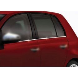 Window trim cover chrom alu for VW GOLF VI 2010-2013
