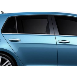 VW GOLF VII 5-door chrome door handle covers
