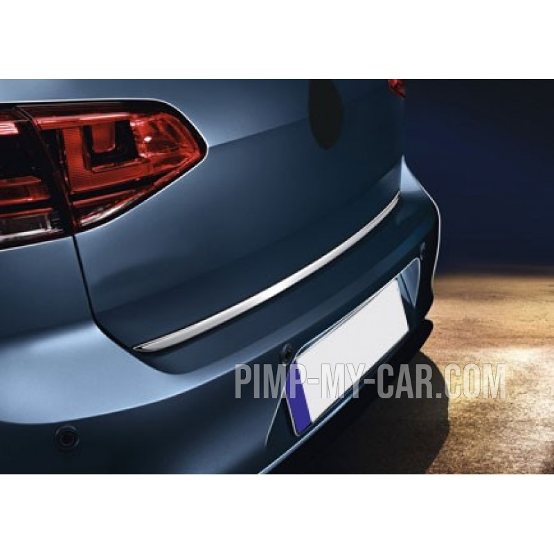 Rear bumper sill cover for VW GOLF VII 2012-[...]