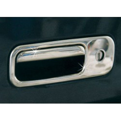 Cover handle trunk chrome for VW CADDY 2003 - 2010