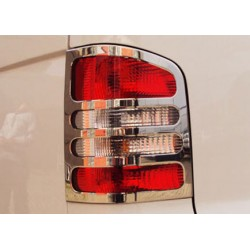 Contour chrome taillights for VW T5 TRANSPORTER 2003-2010