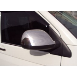 Covers mirrors stainless chrome for VW T5 TRANSPORTER 2010-[...]