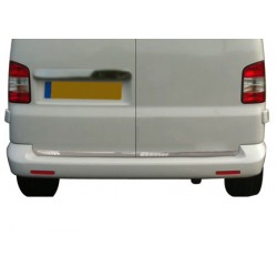 Rear bumper sill cover for VW T5 CARAVELLE 2010-[...] Double doors