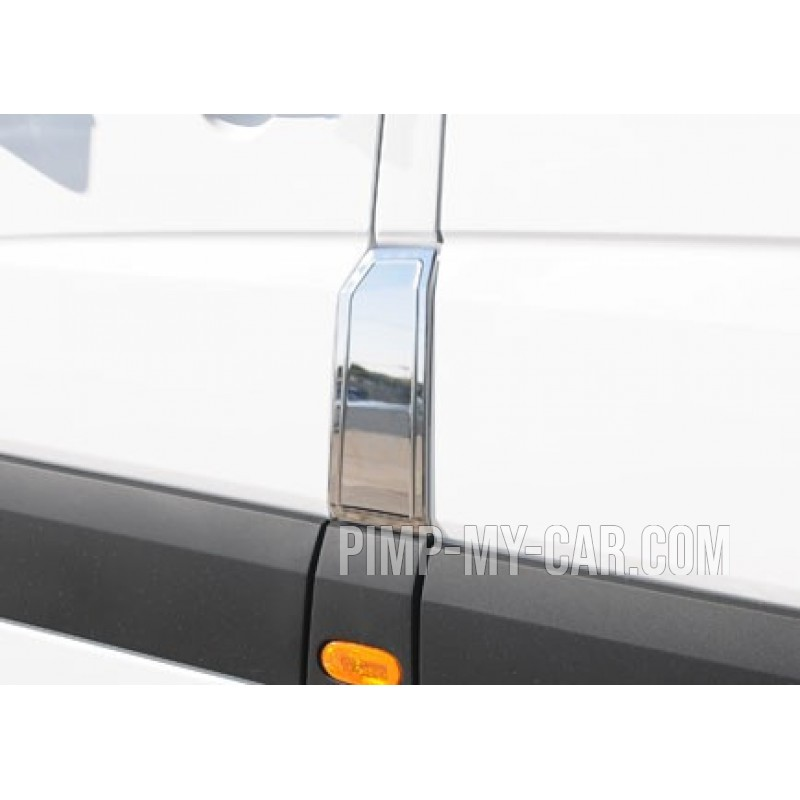 Covers chrome cache tank of gasoline for VW CRAFTER 2006-[...]