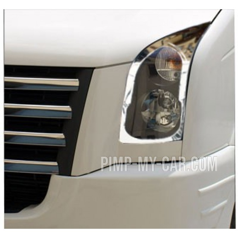 Contour chrome front headlights VW CRAFTER 2006-[...]