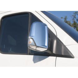 Covers mirrors stainless chrome for VW CRAFTER 2006-[...]