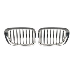 Grilles chrome BMW series 3 E46 sedan 1998-2001